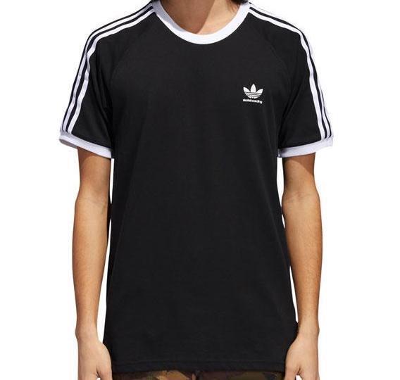 Adidas Skateboarding California 2.0 T Shirt für Herren Schwarz
