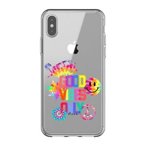 Coque Iphone XS MAX good vibes tie and dye