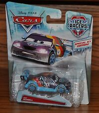 2014 Disney Pixar Cars Die Cast Ice Racers Max Schnell Special Icy Edition NEW