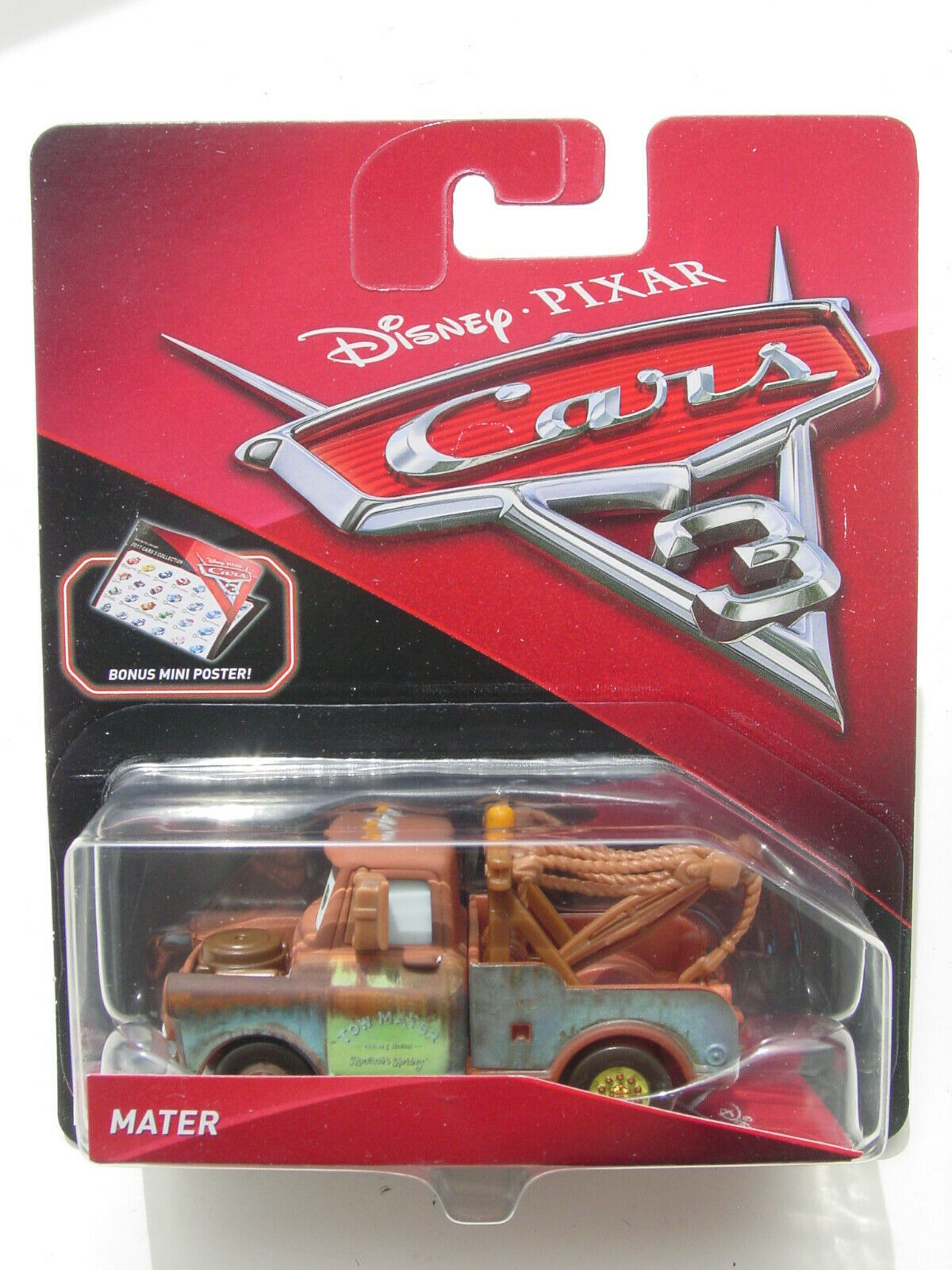 Disney//Pixar Cars Mater/'s Towing and Salvage Playset and Vehicle New SEALED