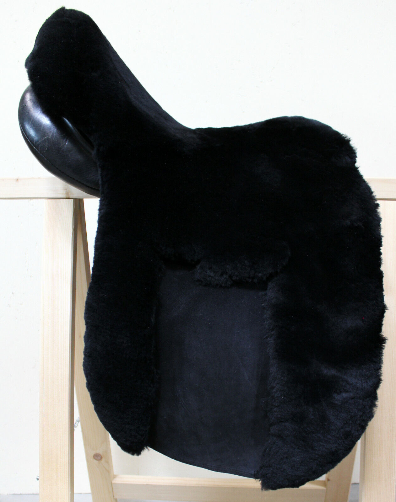Real Lambskin zalea SADDLE COVER-Sitz COVER - FOR Phillipe FONTAINE Orleans
