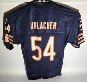 59f6d5be Details about Brian Urlacher Chicago Bears Jersey #54 Home Size Mens M  Reebok NFL Hall of Fame