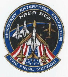 The-Final-Mission-Nasa-SCA-Patch-Space-Shuttle-Discover-Enterprise-Endeavour