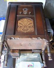 Antique Lyric Floor Console Radio Project