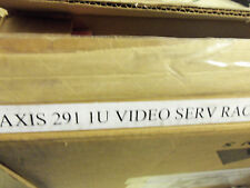 Axis 291 1U Video Server Rack Ethernet Empty w/o cards 0257-004 new but dented