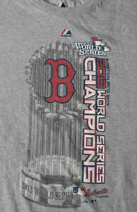 c91dbbfd BOSTON RED SOX 2013 WORLD SERIES CHAMPIONS MLB Majestic T-Shirt ...