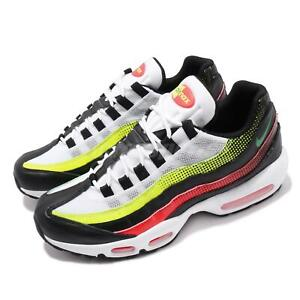 Details about Nike Air Max 95 SE Black White Volt Solar Red Mens Running Shoes NSW AJ2018 004