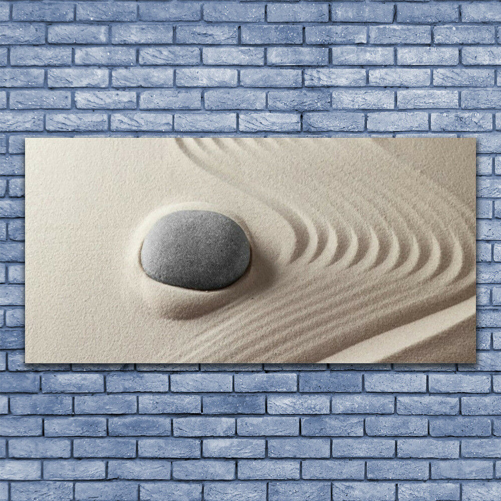 Glass print Wall art 140x70 Image Picture Sandstones Art