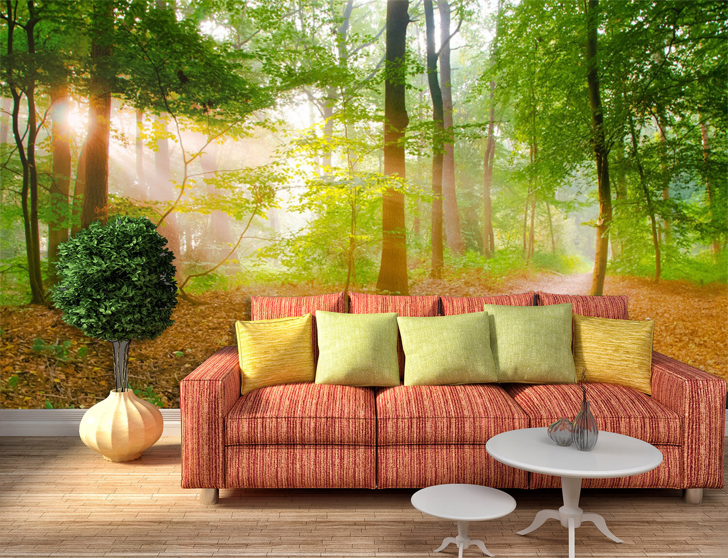 3D Forest Path Sunshine 262 Paper Wall Print Wall Decal Wall Deco Indoor Murals