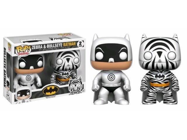 Heroes ZEBRA /& Bullseye Batman Vinile Figure in box 2 Pack Nuovo//Scatola Originale Funko Pop