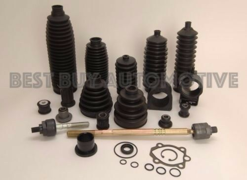 Rack /& Pinion Bellow//Boot Honda CR-V 97-01 6 PIECE KIT-2 Boots Clamps-Fits