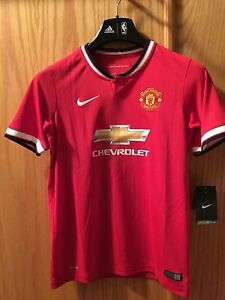 e1d059d71df Nike EPL Manchester United MFC 2014-15 Home Jersey 611040-624 Youth ...