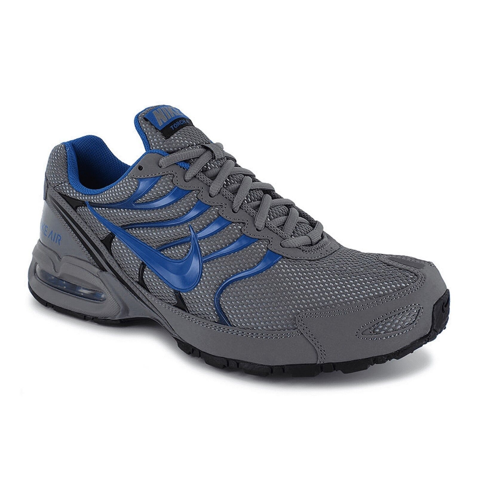 Nike Nike Nike Air Max Torch 4 Grey bluee Black 343846 009 Running shoes Men's Size 8.5 ea41c1