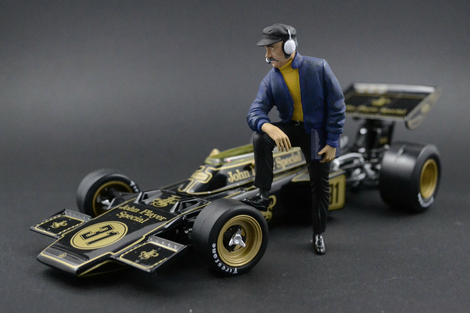 Colin Chapuomo cifra per 1 18 Lotus Cortina Autoart JPS
