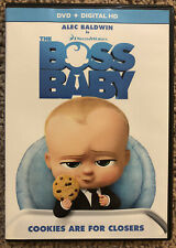 The Boss Baby Dvd 2017 For Sale Online Ebay