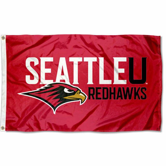 Seattle University Redhawks Su Flag 3x5 Banner