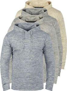 BLEND-Xing-Herren-Kapuzenpullover-Hoodie-Sweatshirt-aus-100-Baumwolle-Meliert
