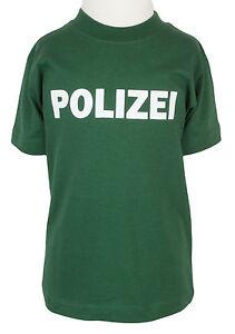 Kinder-T-shirt-Polizei-gruen-86-bis-128