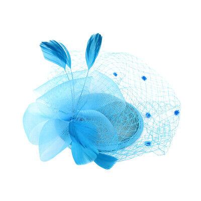 Wedding Ascot Races Sequin Flapper Feather Top Hat Clip 20s  Fascinator