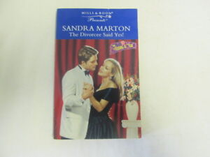 Acceptable-The-Divorcee-Said-Yes-Presents-Marton-Sandra-1998-01-16-First