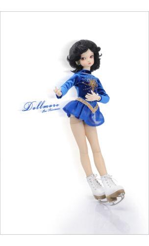 """Blue Dollmore 17/"""" 1//4BJD MSD SIZE Moonshine Skate For Girl A2"""