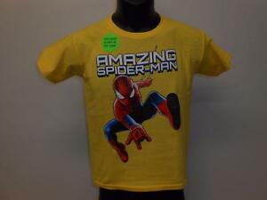 8 NEW  SPIDERMAN  YOUTH SIZE M MEDIUM SHIRT MARVEL 70LZ