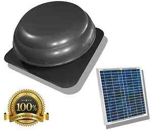 Image Is Loading Air Vent Solar Power Attic Fan Roof Mounted
