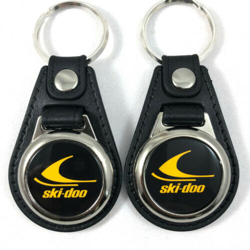 Ski-Doo Keychain Fob Key Ring 2-Pack