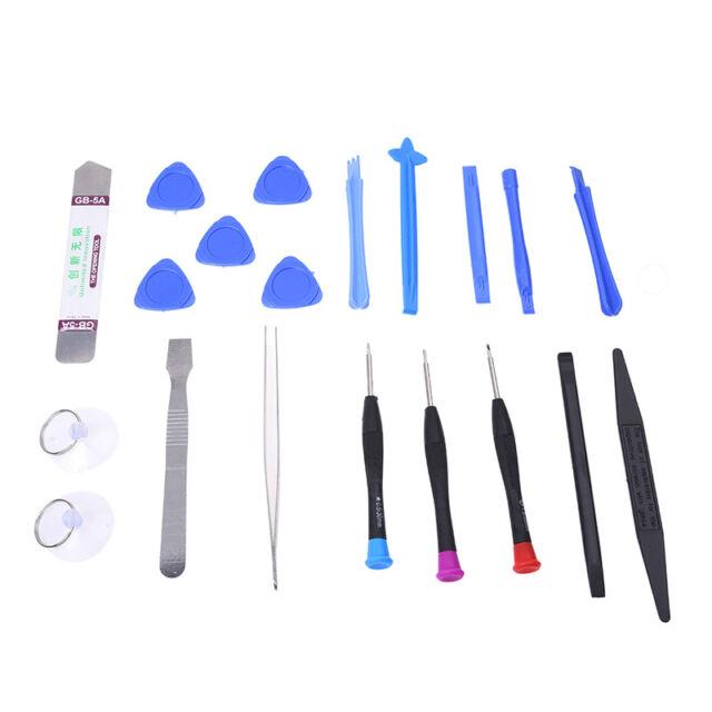20 in 1 Mobile Phone Repair Tools Kit Spudger Pry Opening Tool Screwdriver H8F2