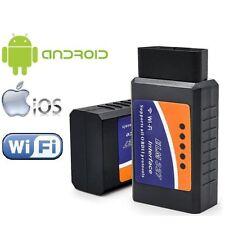 2017 WiFi Wireless OBD-II ELM327 OBD2 Auto Car Diagnostic Scanner Tool Adapter