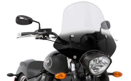 /'04-/'09 Exposed Forks Memphis Shades Speed Demon Windshield Kit Honda VTX1300C