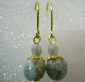 Boucles-d-039-oreilles-034-pour-poupees-porcelaine-anciennes-Jumeau-ou-autres
