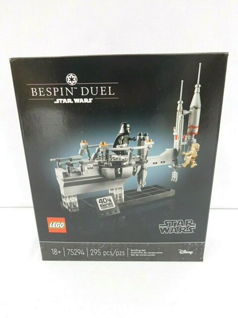 Lego Star Wars 75294 Bespin Duel Limited Edition - New Sealed - Box Damage