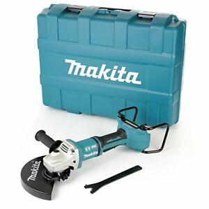 Makita DGA900ZJ 18V Twin LXT Brushless 230mm Angle Grinder With Carry Case