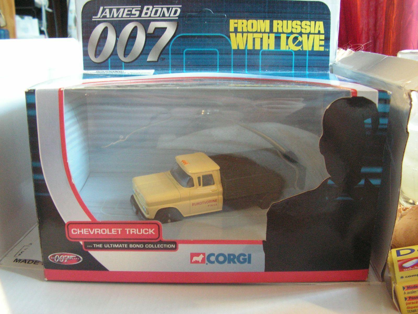 007 JAMES BOND  FROM RUSSIA WITH LOVE BON BAISER DE RUSSIE CHERVOLET 1 43 CORGI