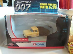 007 James Bond From Russia With Love Bon Baiser De Russie Chervolet 1/43 Corgi