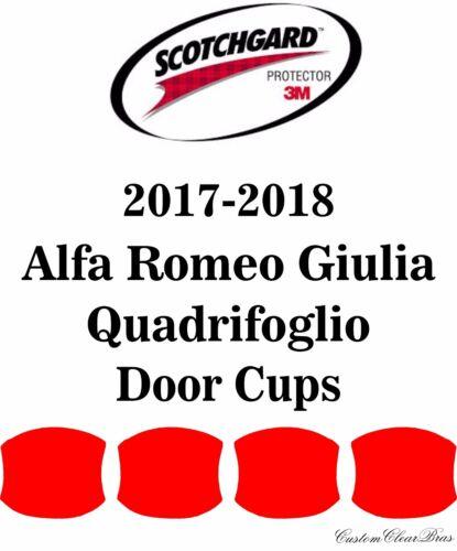 3M Scotchgard Paint Protection Film 2017 2018 Alfa Romeo Giulia Quadrifoglio