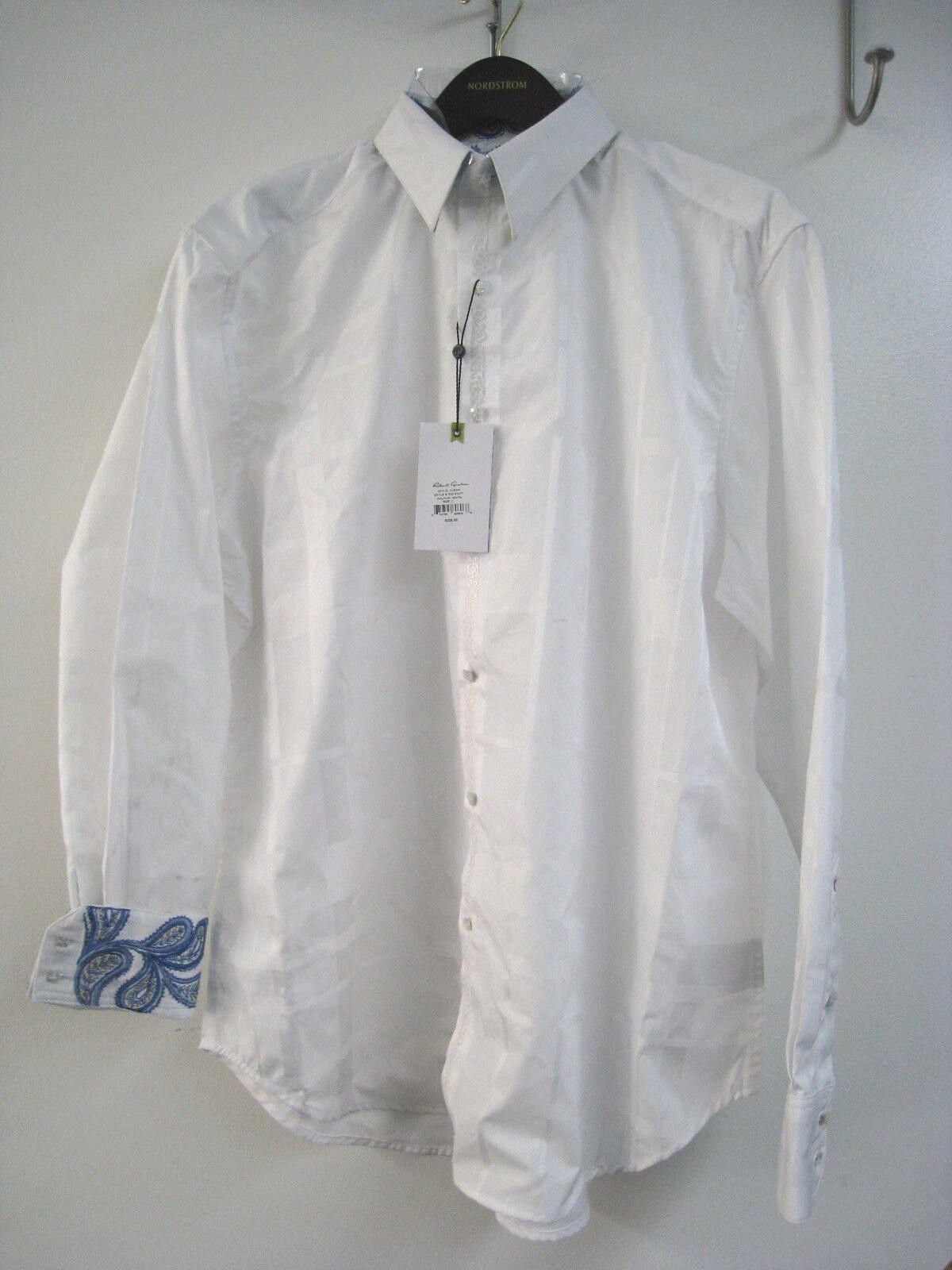 Robert Graham Men's Turks Long Sleeve Woven Shirt Large Button Down MSRP