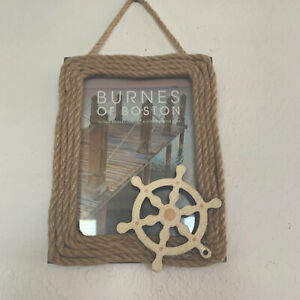5-x-7-Frame-Burnes-of-Boston-Wood-Frame-With-Nautical-Theme