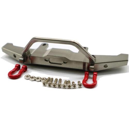 Aluminum CNC Upgrade Metal Front Bumper Guard For WPL C14 C24 1//16 Car WPL1673