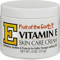 Fruit Of The Earth Vitamin E Cream 4oz