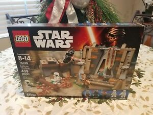 NEW-LEGO-STAR-WARS-Battle-on-Takodana-75139-5-MINI-FIGS-MAZ-KYLO-FINN-409-PC-LOT
