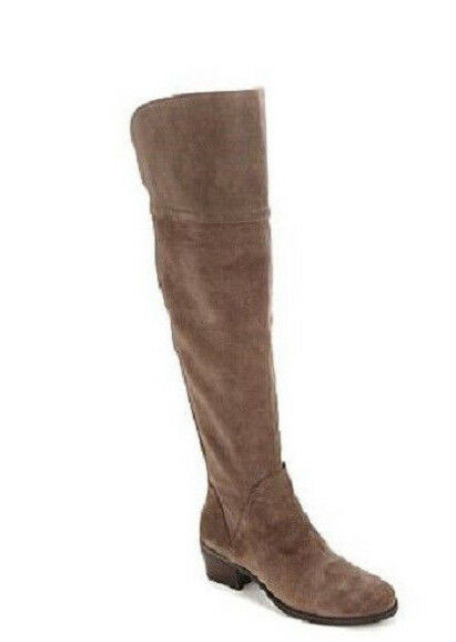79 VINCE CAMUTO BRIELLA TAUPE SUEDE OVER THE KNEE BOOTS  SZ 5.5  MSRP
