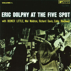 Eric-Dolphy-At-The-Five-Spot-Volume-1-Format-CD-Album-Reissue-Remastered