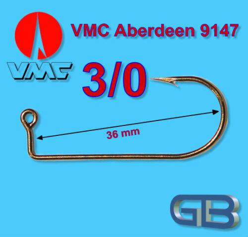 2 x Barsch-Jig VMC Aberdeen 9147 3g 14g Jigkopf Jighaken Eriekopf Barsch jig