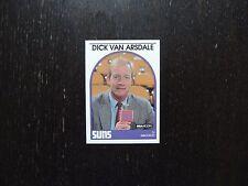 1989 1990 NBA Hoops Announcer Card Dick Van Arsdale Suns Promo Basketball Card