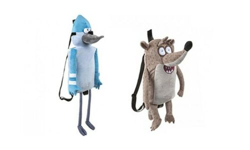 Officiel The Regular Show Soft Plush Nouveauté Sac À Dos Sac À Dos Sac D/'école