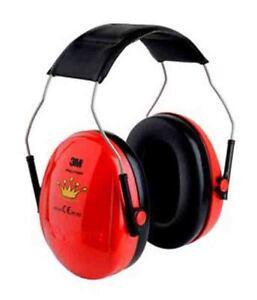 Baby-gehörschutz EntrüCkung 3m Peltor Optime Kind Little Princess Rot Kinder Ohrwärmer Schützer Neu H510ak Sicherheit