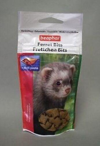 Beaphar Ferret Bits Treats Ferret Rabbit Rat Small Animal Treats 6 x 35g Bulk Bu
