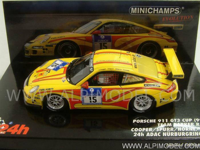 Porsche GT3 Cup 997 Nurburgring 2010 Cooper - Spu 1 43 MINICHAMPS 437106715